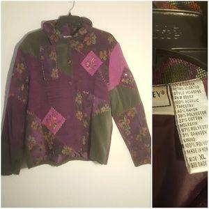 Napa Valley Vintage Jacket pink and purple